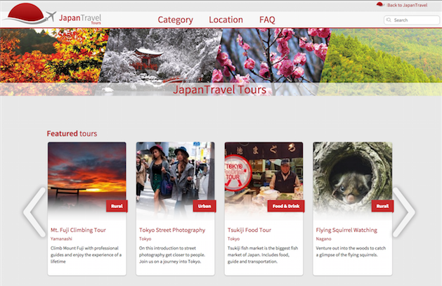 Japan Travel Tours Marketplace